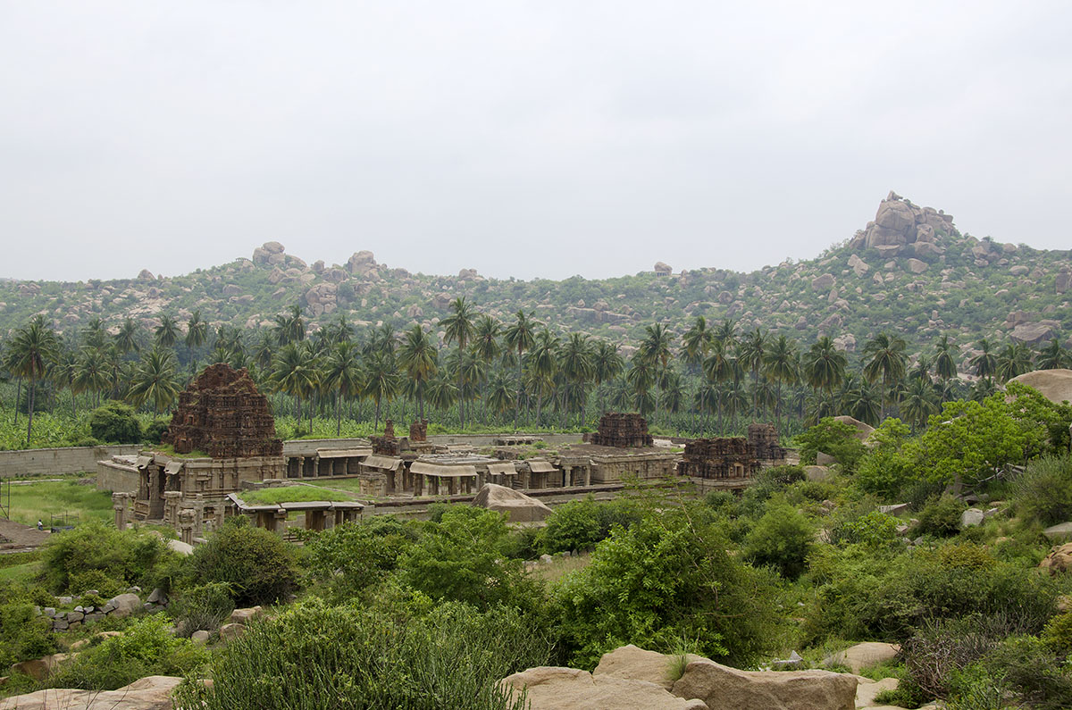 Achuttaraya temple from Matanga hill.