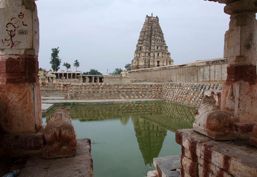 Temple Tank in Virupaksha Temple