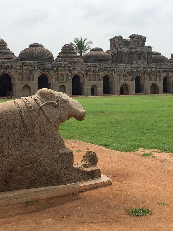 Elephant stables, Hampi