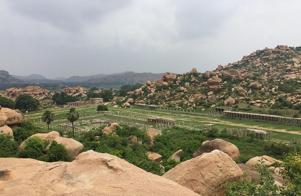 View from Matanga hill