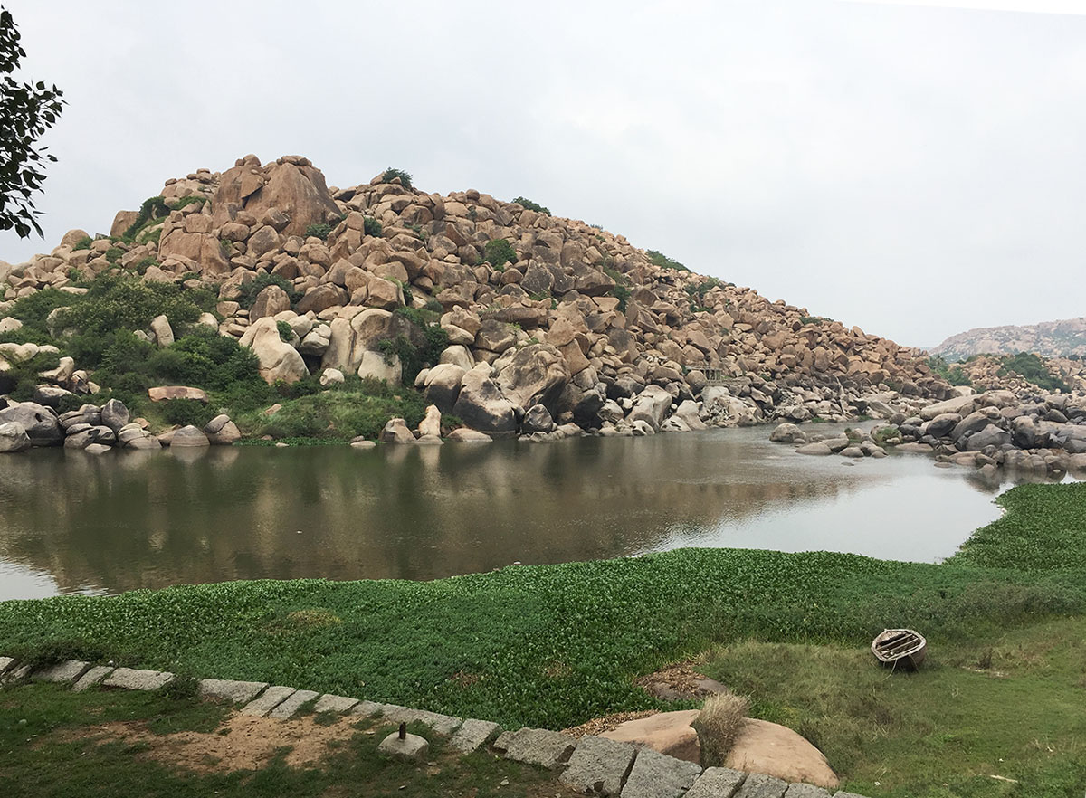 Along the Tungabhadra