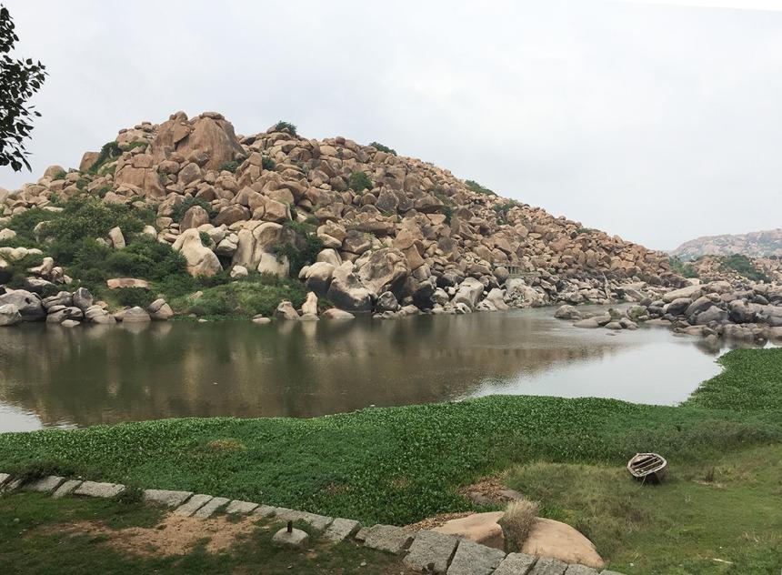 Along the Tungabhadra