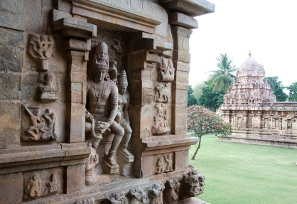 Coronation of Rajendra Chola II by Shiva - Gangaikonda Cholapuram