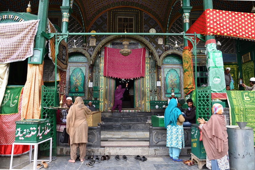 Shrine of Shah-e-Hamadan in Srinagar