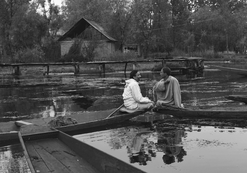 Floating market on Dal Lake,- Srinagar, Kashmir