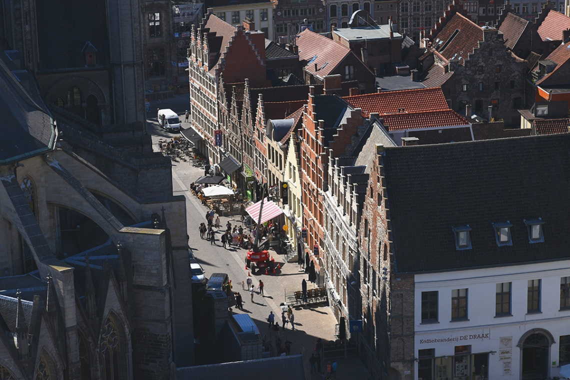 View from the Ghent belfry