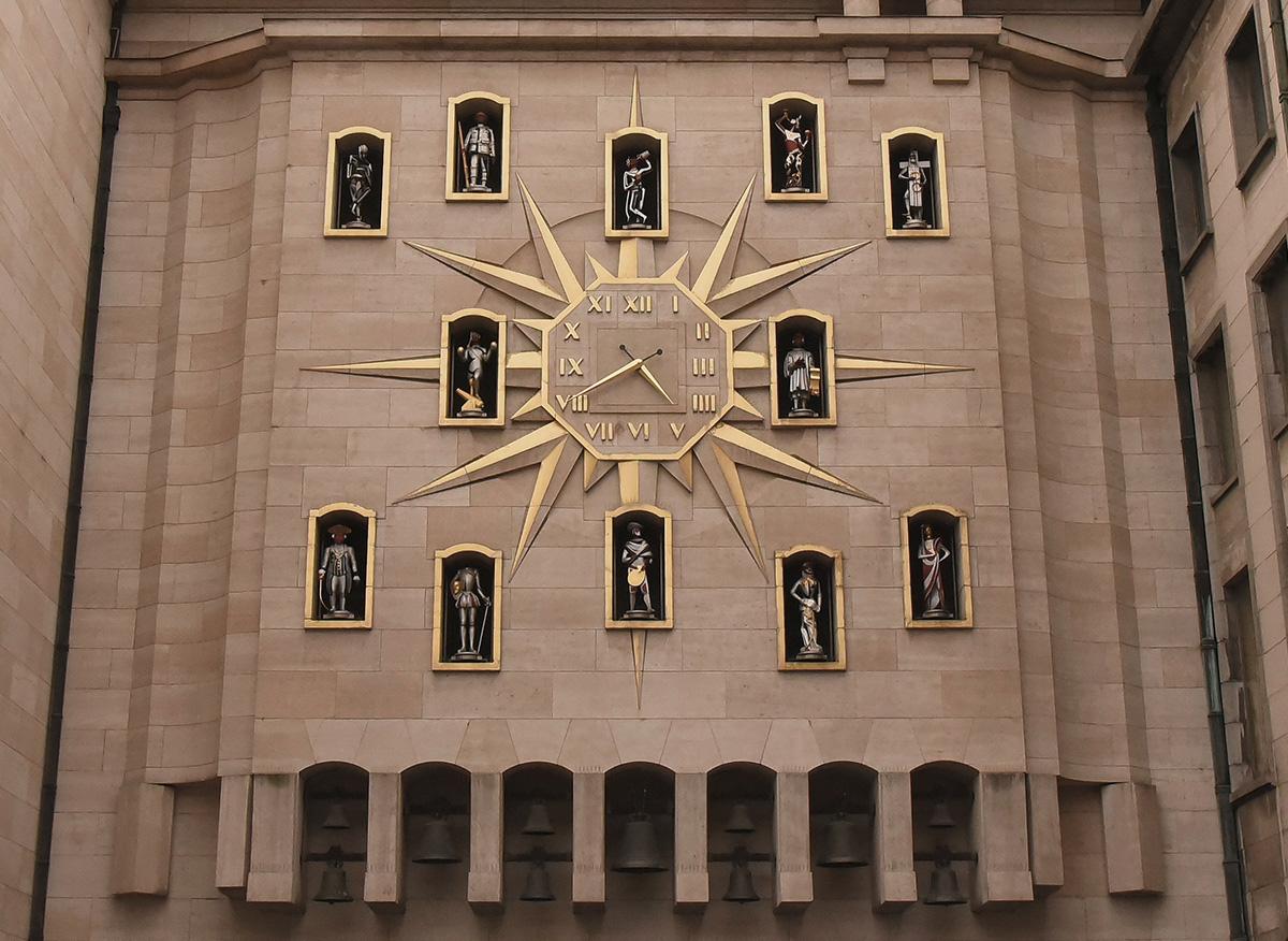 Carillon of Mont des Arts, Brussels