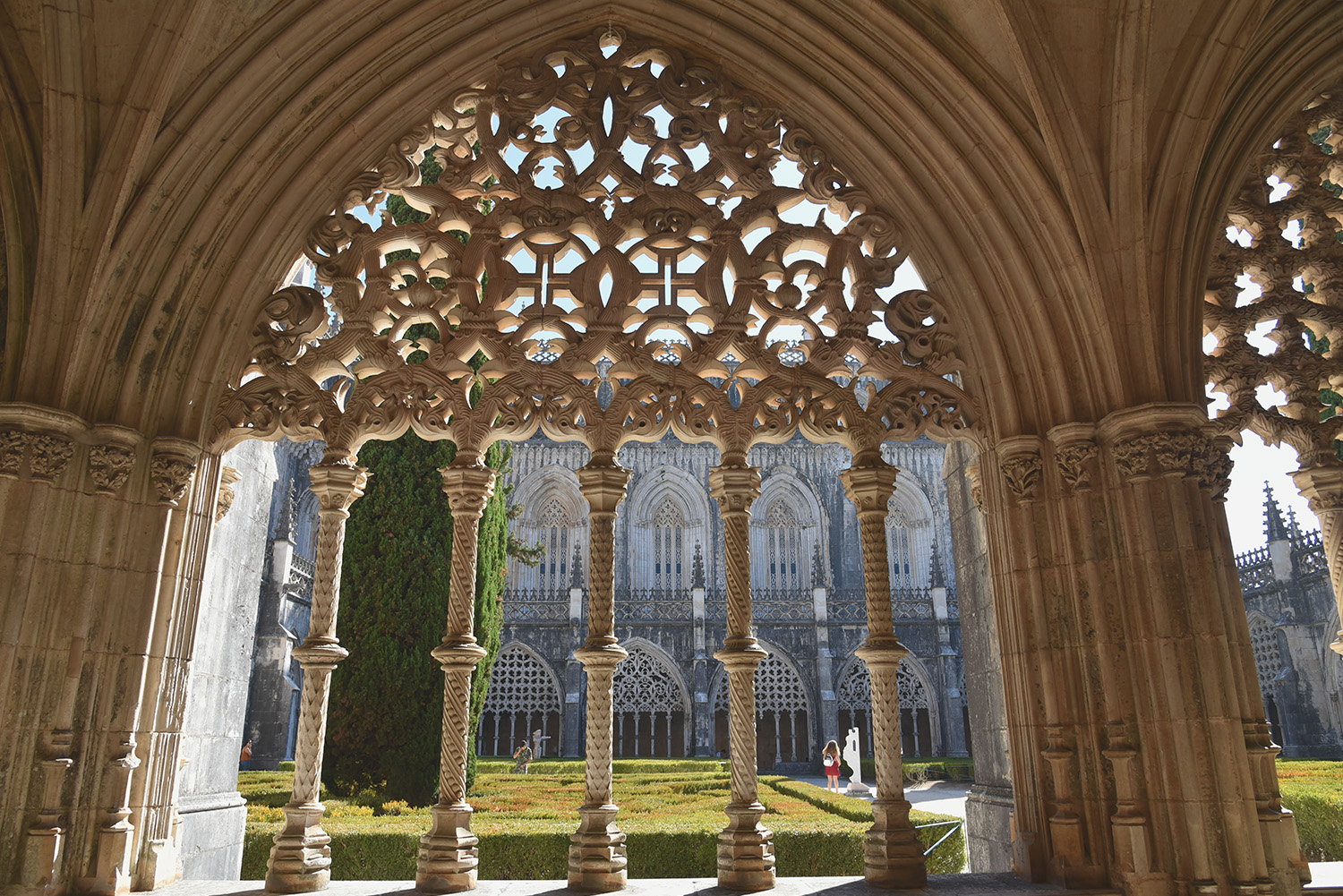 Cloisters, monastery of Batalha, Portugal