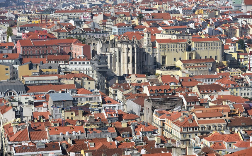 View from São Jorge Castle, Lisbon