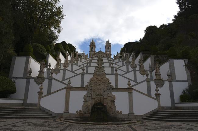 Basilica of Bom Jesus in Braga