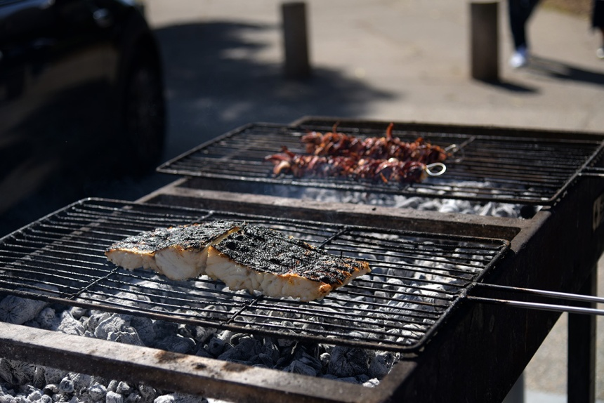 Seafood in Matasinhos, Porto