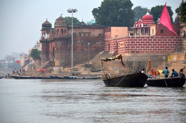 Boat ride on the Ganges