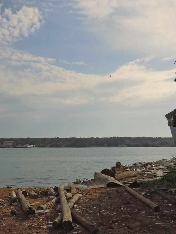 The Nathravathi River, Mangalore