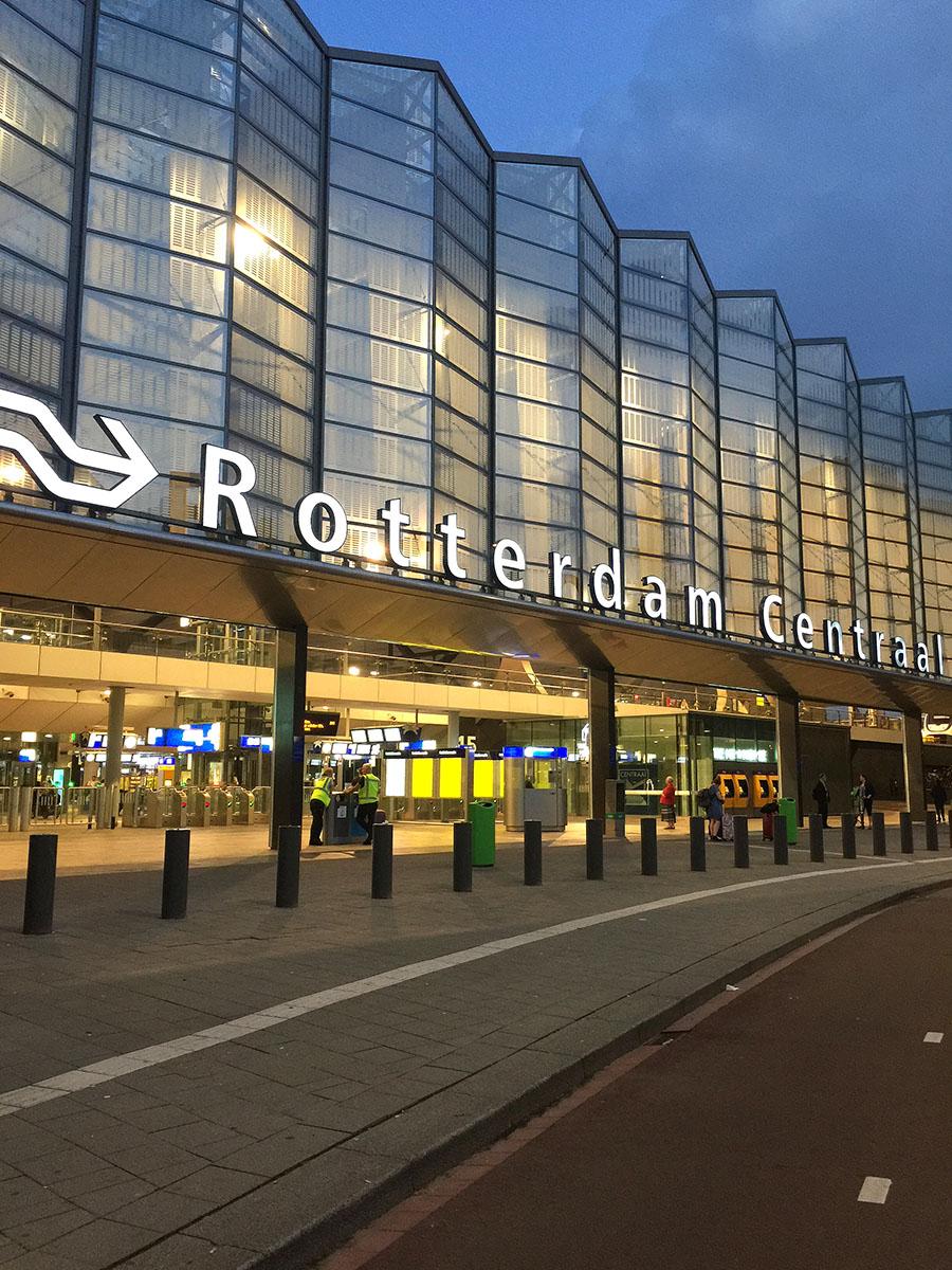 Rotterdam Centrqal Station