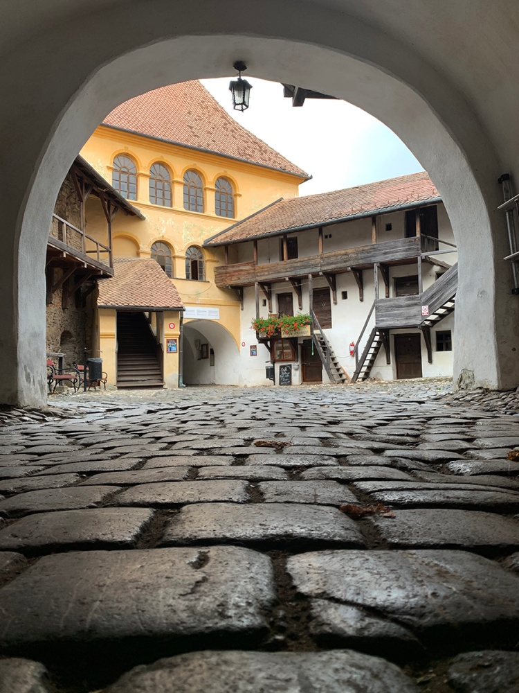 A Saxon Fortified Church