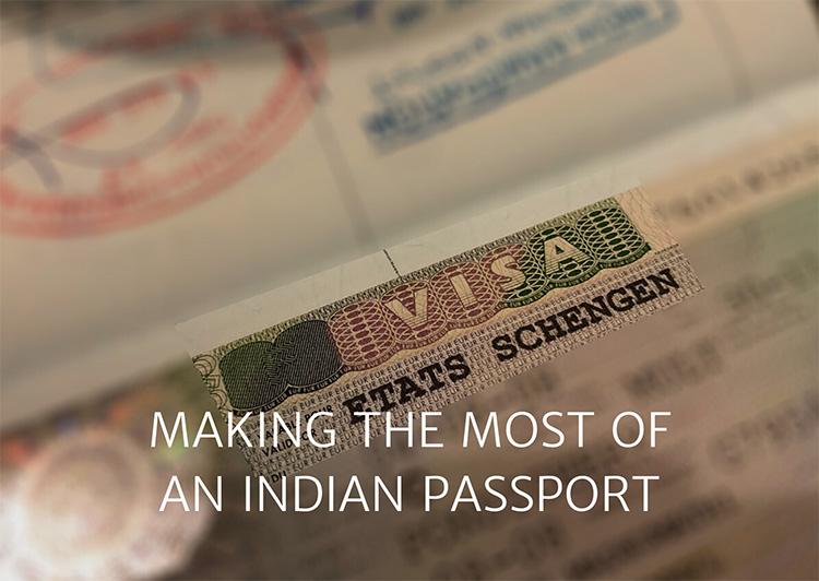 Visa stamp - Link to All About Visas