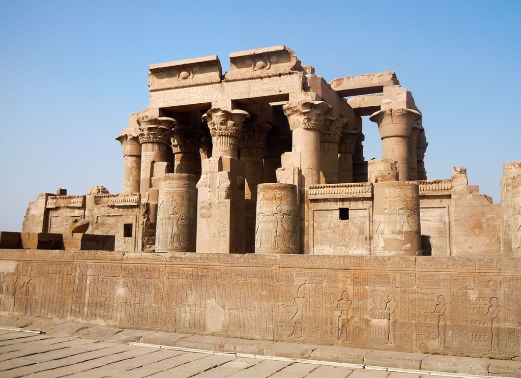 Kom Ombo Temple, on the way from Aswan To Luxor.
