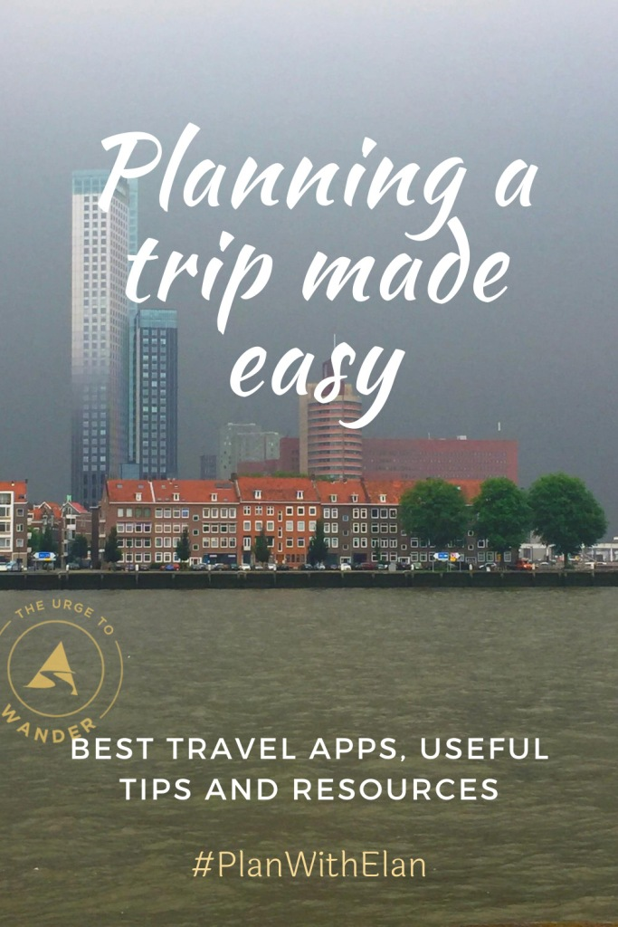 Detailed information on how to plan a trip. It includes travel tips and links to the best travel apps for planning and for the journey. #TravelResources #TravelTips #bestTravelApps