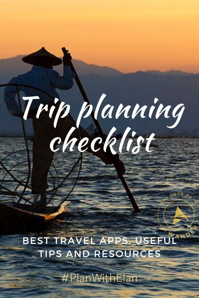 All the information you need to  plan a trip from scratch. It includes travel tips and links to the best travel apps and resources. #TripPlanning #TravelResources #TravelTips #BestTravelApps