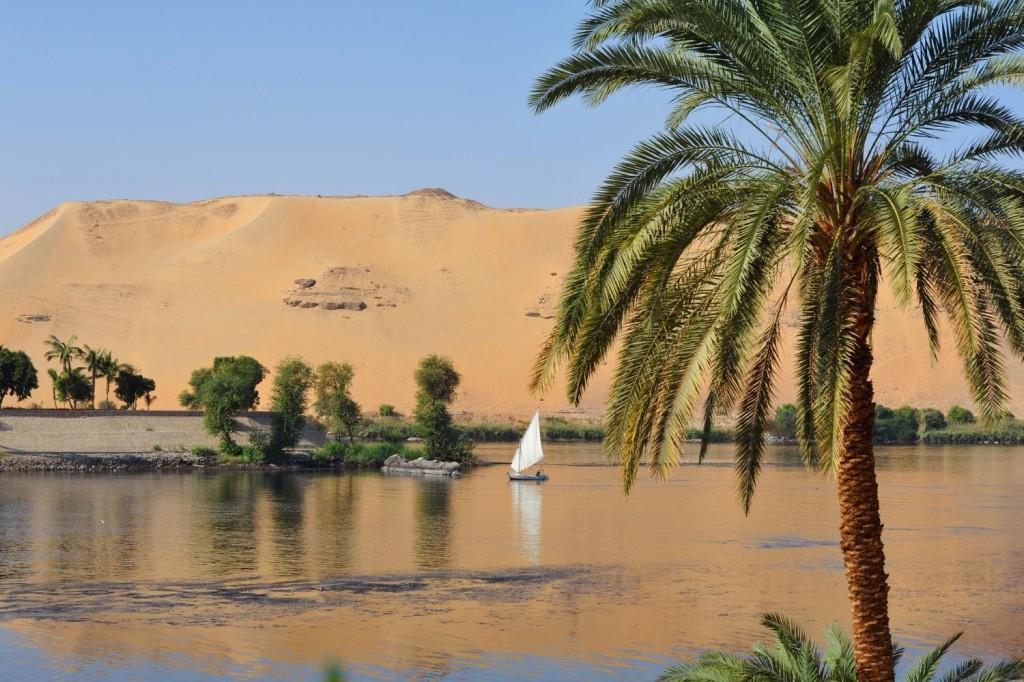 Aswan, Egypt, landscape