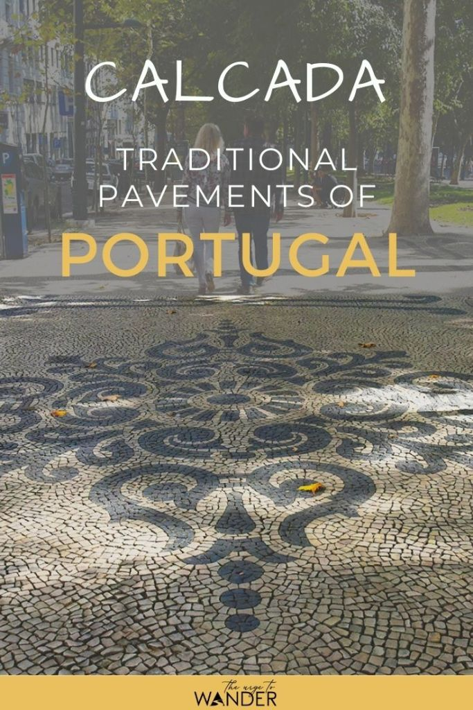 The traditional mosaic pavements of Portugal – Calçada Portuguesa –  can be found all across the country. Especially in the streets in the historic city centres of Lisbon, Porto, the Algarve, even the Azores Islands. Check out my Photo feature.  #PortugalTravel #ThingsToSee #StreetArt #TraditionalArt #Mosaic