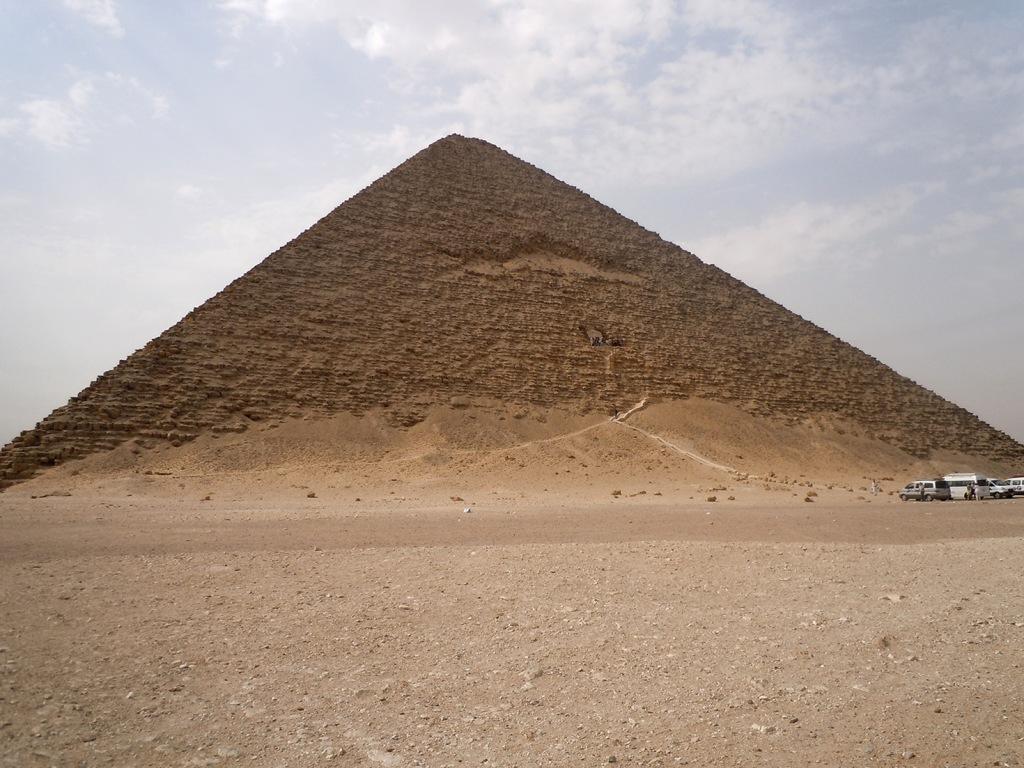 Snofru's Red Pyramid - Dashur, Egypt