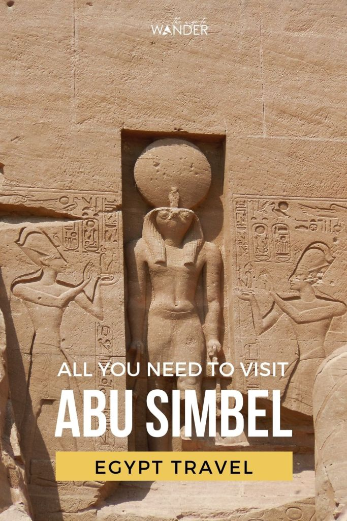 All you need to know about visiting Abu Simbel Temple from Aswan, Egypt. Find detailed information on how to get there, facts, history and travel tips.   #Egypt #PlacesToSee #AncientEgypt ##EgyptTemples