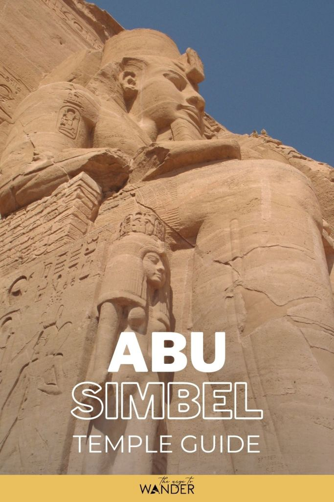 Complete guide to the magnificent Abu Simbel Egypt Temple. I've included detailed information on how to get there, facts, history and travel tips to help you plan your visit.  #Egypt #PlacesToSee #AncientEgypt ##EgyptTemples