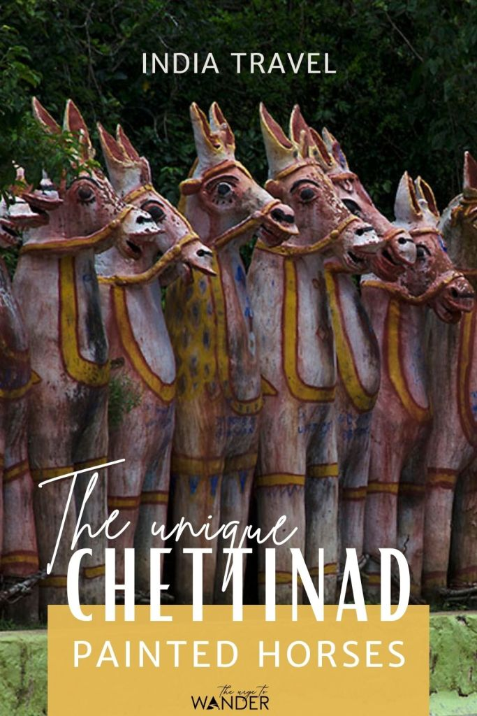 The terracotta horse temples are unique to the region of Chettinad. Read all about these painted clay horses and the local Chettiar clan temples of Ayyanar where they are traditional offerings.