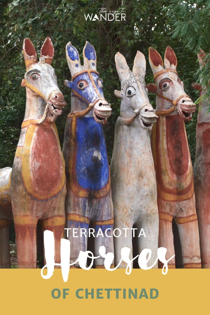 Looking for things to do in India? The painted clay horses of Chettinad and the unique Ayyanar temples where they are offered are great additions to a south India itinerary. Read all about this little known tradition now.  #Travel #India #SouthIndia  #PlacesToSee #Culture