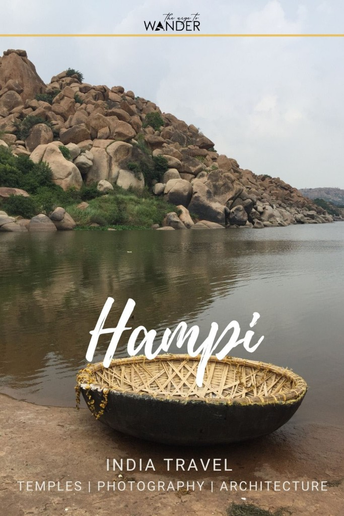 Blog post on Hampi, India, and its temples and rock studded landscape that make it one of the most atmospheric UNESCO Heritage Sites in the country. You'll hear the echoes of a forgotten empire.  #IndiaTravel #Temples #Photography #UNESCO #TravelInspiration