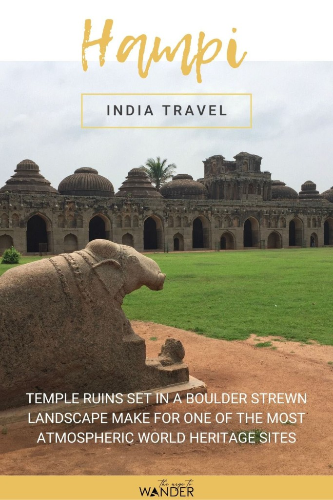 Looking for India travel inspiration? Read my photo feature on Hampi in South India. It's exquisite temple architecture and the beautiful landscape make it one of the most atmospheric UNESCO Heritage Sites in the country.  #IndiaTravel #Temples #Photography #UNESCO #TravelInspiration