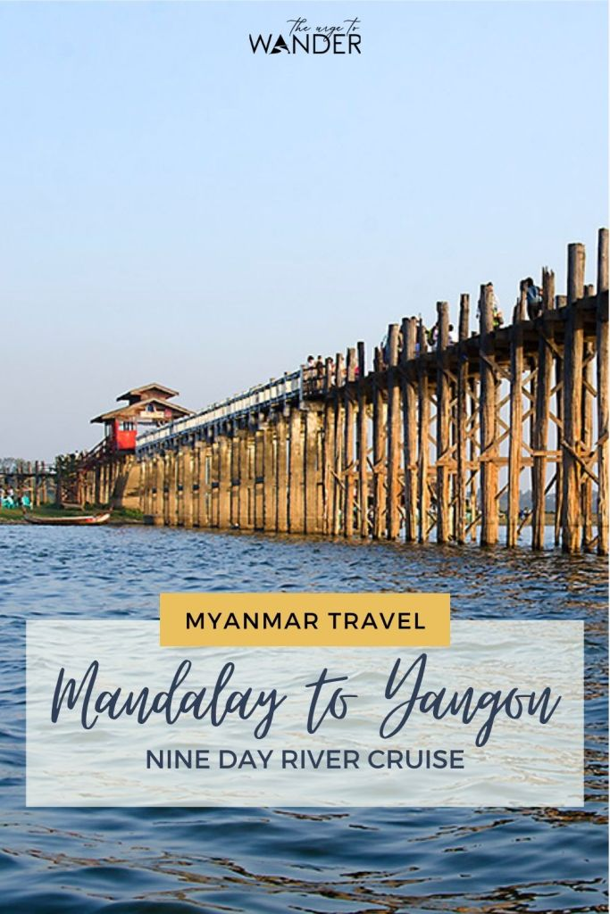 Travelling to Myanmar? Read all about our nine day Irrawaddy cruise from Mandalay all the way to Prome, close to Yangon. The cruise itinerary covered most of the sightseeing in Mandalay, Bagan, Ava, Mingun, Monywa, Salay, Magye, Prome, Pyay and more. #RiverCruise #Myanmar #Mandalay #Travel