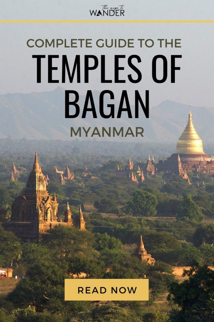 Ultimate guide to the temples of Bagan, Myanmar, with detailed tips on the best temples to visit, top sunrise and sunset viewing spots, beautiful photography and a map to help you navigate the magical pagoda fields. #MyanmarTravel #BaganTemples #Burma #Photography #Sunset #Sunrise