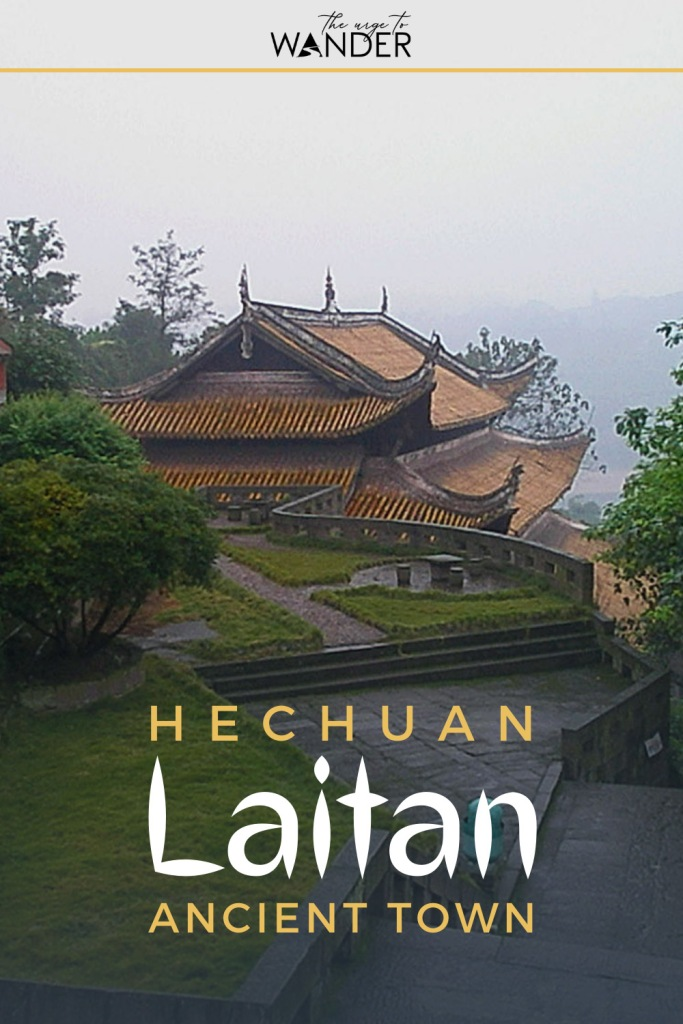 Hechuan Laitan Ancient Town is one of China's most beautiful ancient towns. it is home to the second largest Buddha in Western China and makes a great day-trip from Chongqing. #China #Chongqing #DayTrips #PlacesToVisit #ChinaPlacesToVisit #HiddenGems