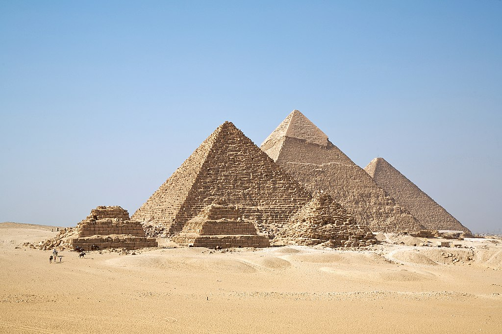 All the Pyramids of Giza
