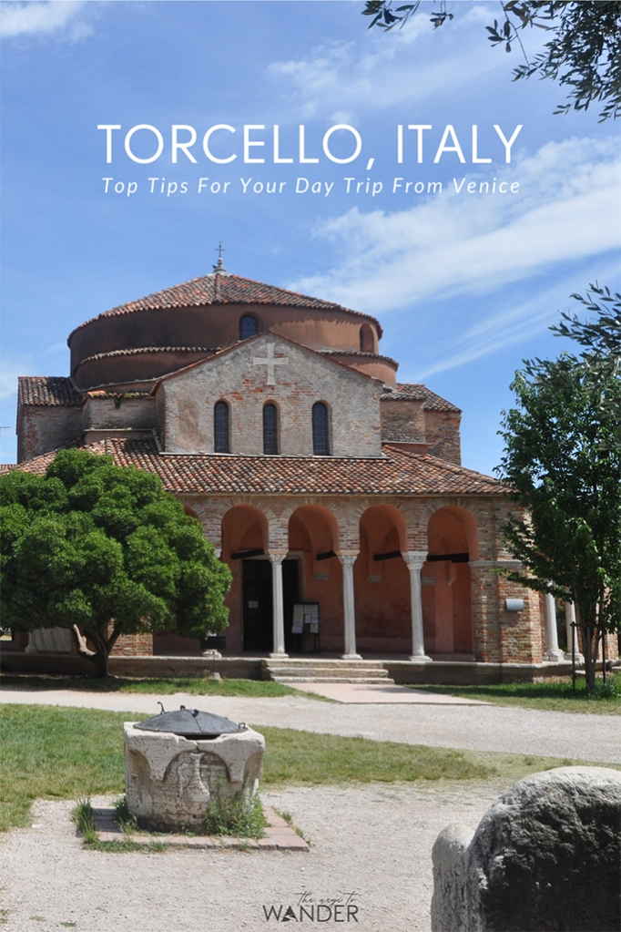 Did you know Torcello, Italy, is the place where Venice began? That's the reason Torcello island, along with its 7th century cathedral and exquisite Byzantine mosaics makes a memorable addition to any Venice itinerary. Read full story along with top tips tips on how to plan a great day-trip that can include Burano and Murano. #torcello #island #travel #venice #italy #photography #travelguide #traveltips