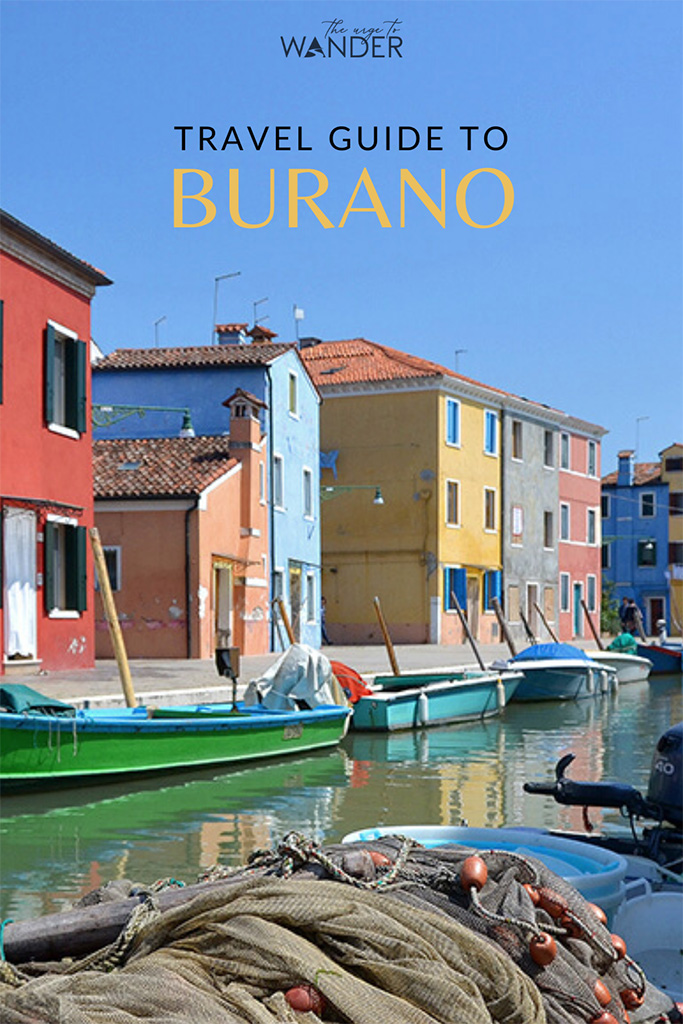 A handy guide to the island of Burano in Italy, famous for its colourful houses and handmade lace. Discover the best things to do in Burano and how to get there on a day trip from Venice  #burano #island  #travel #venice #italy #photography #travelguide #traveltips