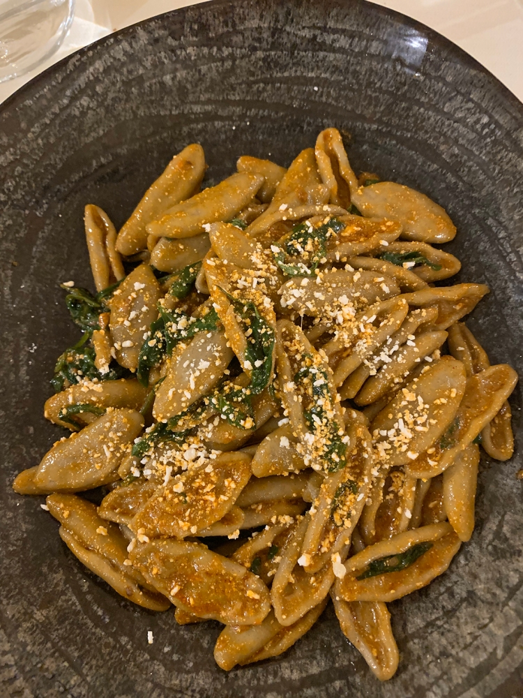 Cavatelli pasta with toasted bread crumbs - Matera Foods