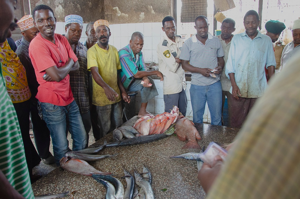 Fish Auction in Darajani MArket - Stone Town Travel Guide