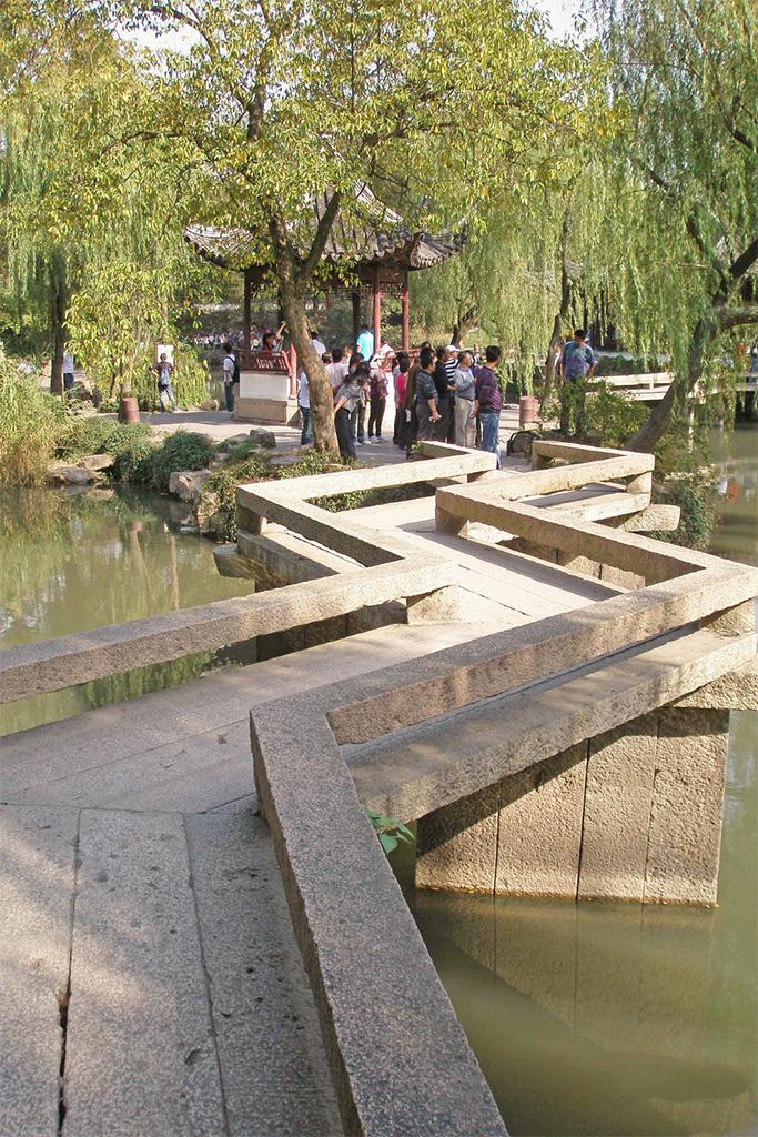 Zig-Zag bridge - Humble Administrator's Garden, Suzhou