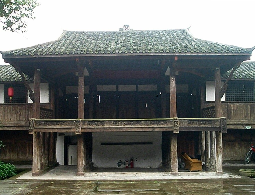 Wenchang Palace performance hall.