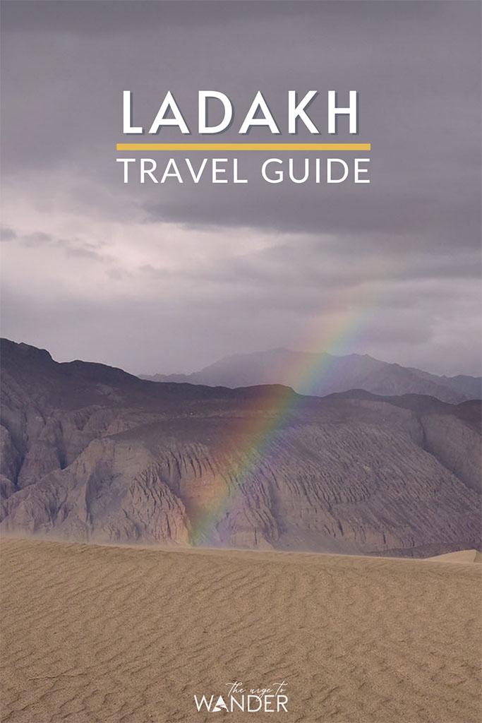 Rainbow in Nubra Valley